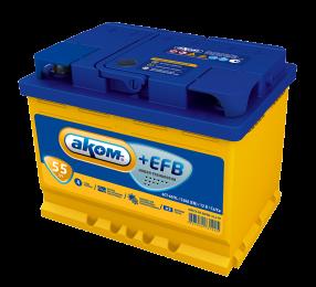 АКОМ  EFB 6СТ - 55
