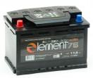Аккумулятор Smart ELEMENT 6СТ - 75